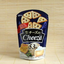 Japan Glico CHEEZA CAMEMBERT CHEESE 53% Cheesy crackers Japanese Candy snack
