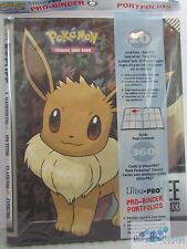 ULTRA PRO POKEMON Eevee Evolutions PRO-BINDER CARD HOLDER + 20 PAGES FOR CARDS