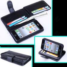 New 7 Card Holder Flip Wallet Leather Case Cover For Apple iPhone 5 / 5S / SE