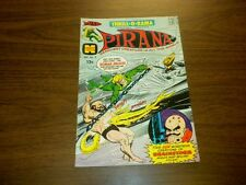THRILL-O-RAMA #3 Harvey Comics 1966 PIRANA