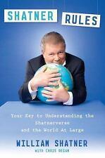 Shatner Rules (Book) **New** HTF