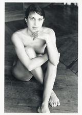 Photo Jean François Jonvelle Tirage Original Nu Nude Modèle Vers 1990