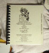 The Niner Sisters Recipes Irene Genevieve Kathryn Faribault MN Peace Lutheran