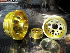 EPMAN LIGHTWEIGHT CRANK PULLEY SET fit NISSAN Z33 350Z INFINITI FX35 G35 / PYZ33