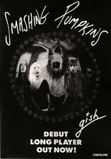 15/6/91 Pgn38 Advert: Smashing Pumpkins gish Their Debut Album Out Now 7x5