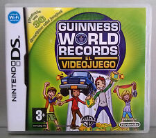 GUINNESS WORLD RECORDS EL VIDEOJUEGO  - NINTENDO DS - VERSION ESPAÑA - COMPLETO