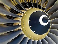 JET ENGINE CLOSE UP PLANE PHOTO ART PRINT POSTER PICTURE BMP207A