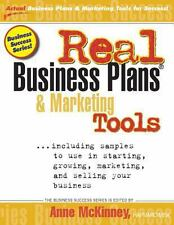 Real Business Plans and Marketing Tools by Anne McKinney (2012, Paperback)