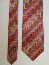 -AUTHENTIQUE cravate cravatte  MAZZOLA 100% soie  TBEG  vintage