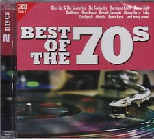 BEST OF THE 70S - VARIOUS ARTISTS  on 2 CD's - NEW -