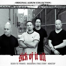 SICK OF IT ALL - ORIGINAL ALBUM COLLECTION BOX-SET 3 CD NEU