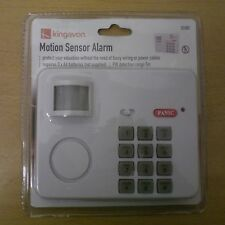 WIRELESS ALARM SECURITY SYSTEM  MOTION SENSOR SIMPLE EASY FIT BATTERY