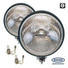 Ring 12v Car 4x4 Van Round Driving Halogen Spot Driving Lamps Lights - Pair