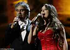 ANDREA BOCELLI DVD, STATUE OF LIBERTY, 2000, SARAH BRIGHTMAN, A+QUALITY +2nd DVD