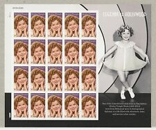 2016 Legend of Hollywood Shirley Temple Full Pane MNH