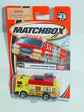 MATCHBOX 2002 #42 AUXILIARY-POWER TRUCK