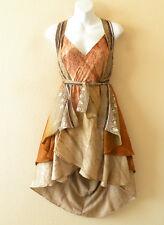 """P163 Reversible Vintage Silk Magic 24"""" Wrap Skirt Halter Tube Dress + Bonus DVD"""