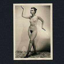 #257 Rössler nudismo/nude Woman Study * vintage 1950s Studio Photo-no PC!