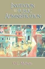 Invitation to Public Administration, O. C. McSwite, Good Book