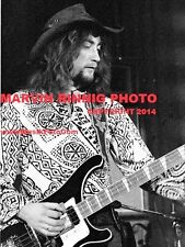 DEEP PURPLE - ROGER GLOVER & RITCHIE BLACKMORE 1971 PHOTO 8x11 SALE RARE