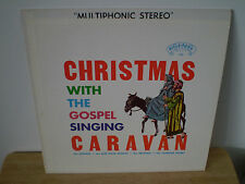 """""""CHRISTMAS WITH THE GOSPEL CARAVAN""""..""""AUTOGRAPHS""""..""""GEORGE YOUNCE""""....HOLIDAY LP"""