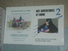 ART ADVENTURES AT HOME Home School Curriculum Level 1 & 2 Pattye Carlson Soyke