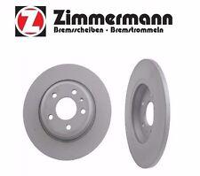 Audi A4 Q5 A7 08-15 Rear Disc Brake Rotor 8K0615601B Zimmermann