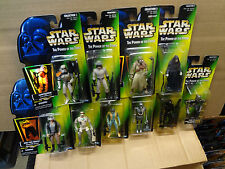 Green Card Lot of 10 POTF2 Star Wars Power Force Sandtrooper Tusken Emperor 2-1B