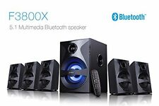 New F&D Fenda F3800X 5.1 Bluetooth Speaker With USB/SD/FM/REMOTE