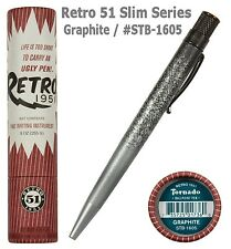 Retro 51 Graphite / #STB-1605  Slim Series Tornado Ball Point Pen