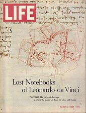 Life Magazine March 3 1967 Birthday Leonardo Da Vinci VG 050316DBE
