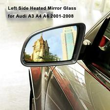 Left Side Heated Rear View Wing Mirror Glass For Audi A3 A4 A6 2001-2008 G0Y2