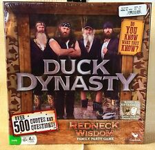 *NEW* Duck Dynasty Family Party Game Redneck Wisdom 500 Quotes & Questions WOW!!
