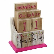 Paper Salad Coloured Perpetual Calendar - Useful gift for girls - Student Gift
