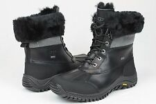 NIB UGG AUSTRALIA ADIRONDACK CONSTELLATION BLACK LACE UP WINTER BOOTS SIZE 7 US!