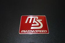 Mazda Speed Embossed Metal Car Badge Emblem Sticker Logo MX5 RX7 RX8 CX5 CX9