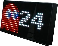 PAC-MAN Premium LED Desk Clock-512 Vibrant LED's Display {PAC-MAN-CLOCK-D2} HCD