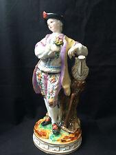 Antik Meissen Figur - Antique Meissen figurine Gärtner - Gardner H 20,5 cm  1860