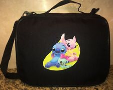 TRADING BOOK FOR DISNEY PINS Stitch And Angel Scrump LARGE/MED PIN BAG