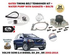 FOR VOLVO XC90 2.4 DIESEL D3 D4 D5 2002-2014 TIMING CAM BELT & WATER PUMP KIT