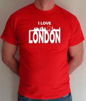 I LOVE LONDON, FUN T SHIRT