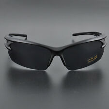 Mens UV400 Outdoor Sport Cycling Bicycle Bike Riding Sun Glasses Eyewear Goggle