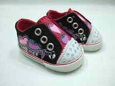 "Hearts & Chains Slip on Sneakers- For American Girl & most 18"" dolls"
