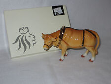 """OXEN"" 2004 ROYAL DOULTON HOLIDAY TRADITIONS NATIVITY - HN4705 - MIB"