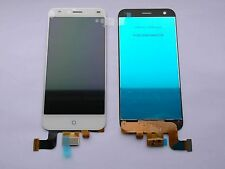"White ZTE BLADE S6 5.0"" LCD Display Touch Screen Digitizer Unit Assembly - UK-"