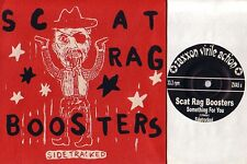 SCAT RAG BOOSTERS side tracked 4 songs ep 45  PS CANADA RARE GARAGE oop L@@K