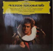 """RIGOLETTO - GIUSEPPE VERDI - CARLO MARIA GIULINI  12""""  LP (N352)"""