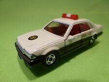 TOMICA 13 NISSAN CEDRIC 4 DOOR RHD  - POLICE - WHITE 1:59 RARE - GOOD CONDITION