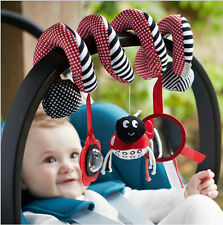 New Musical Insect Activity Toy Spiral Cot Car Seat/Stroller Infant Rattle