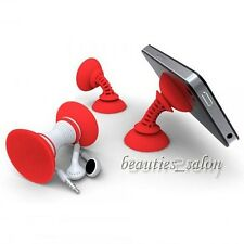 Silicone Suction Cup Holder Cable Winder Sucker Stand For iPhone (Random Color)
